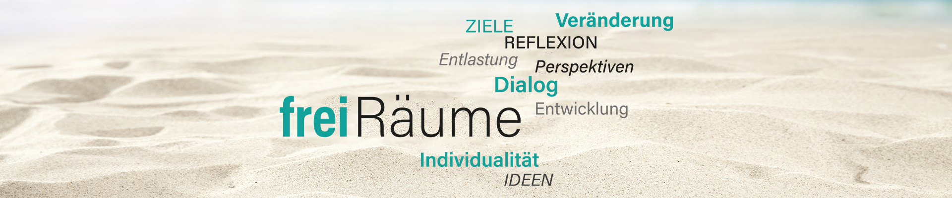 Logo freiRäume, Coaching Supervision betriebliche Prävention